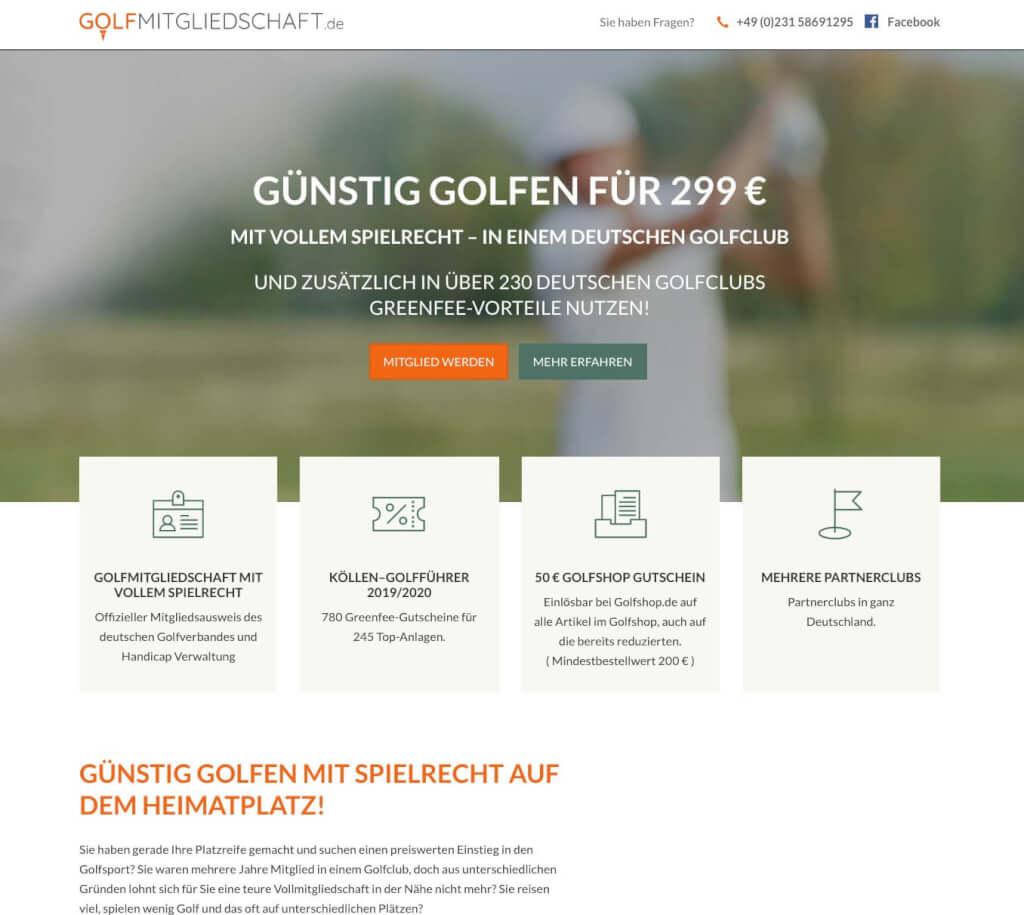 Golfmitgliedschaft.de