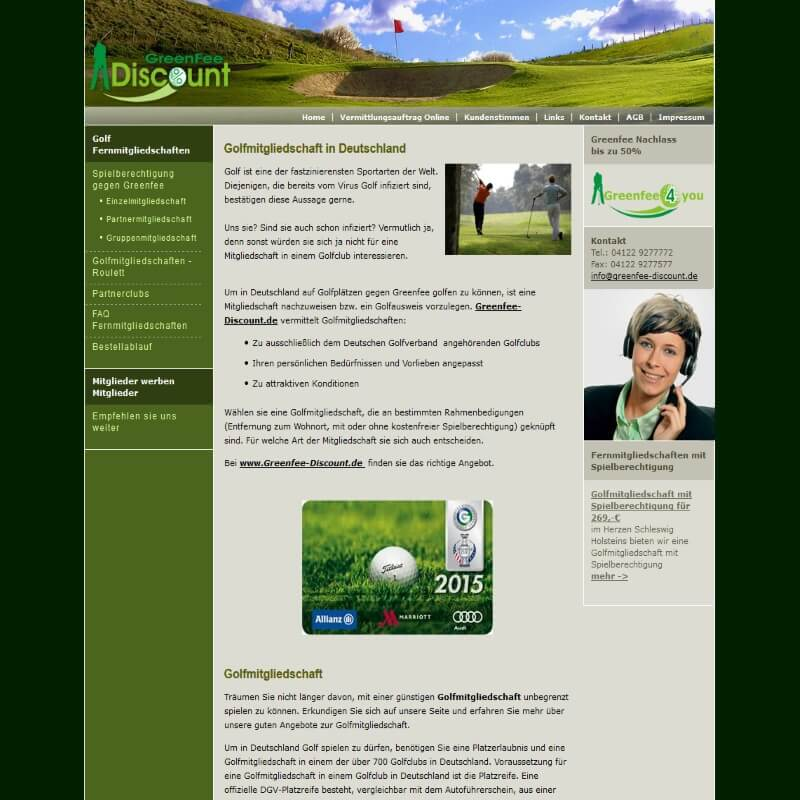 Greenfee Discount
