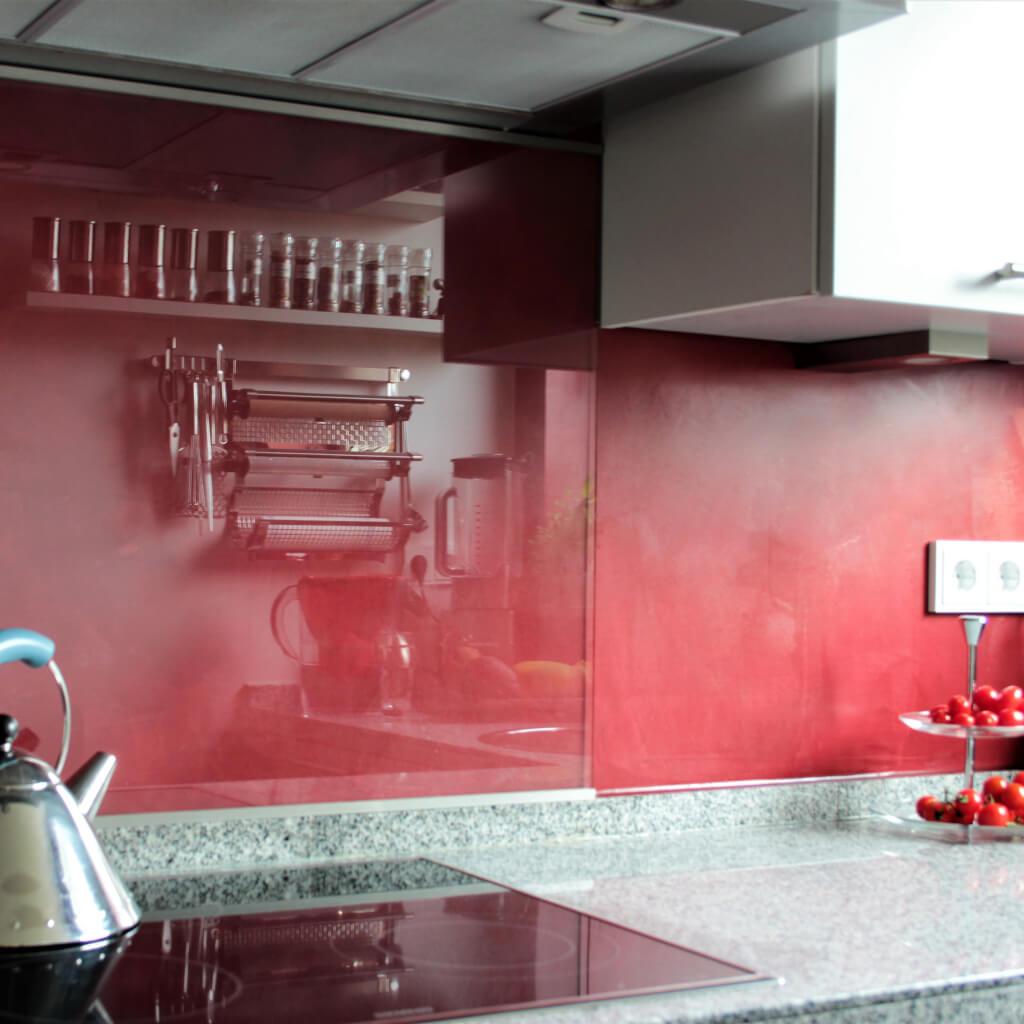 Kalk im Küchenbereich