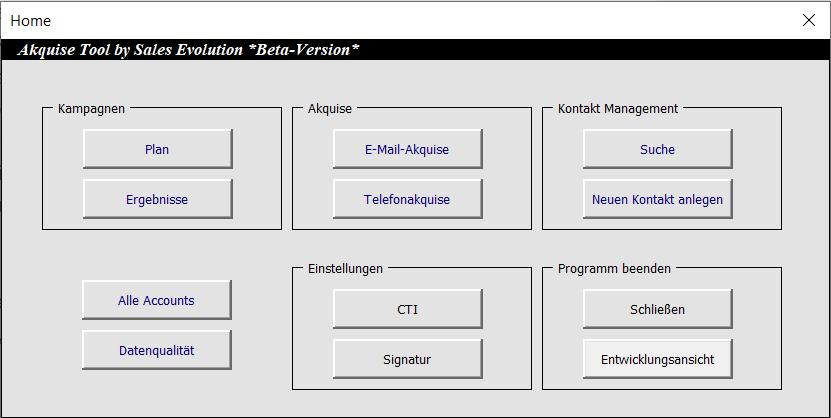 Telefonakquise im B2B - Akquise Tool