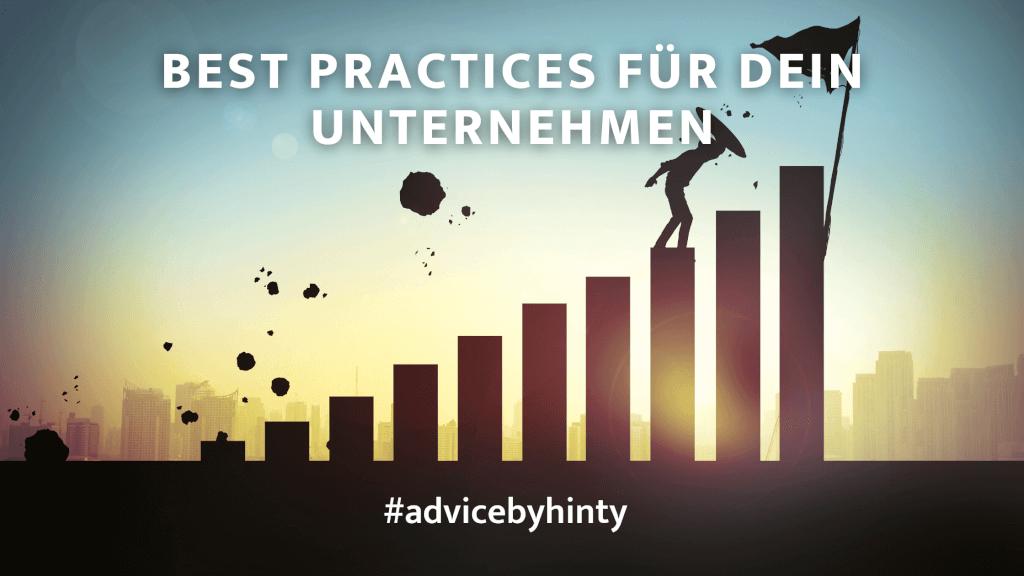 Agilität, Kultur und Co - Tipps und Best Practices für dein Unternehmen #advicebyhinty