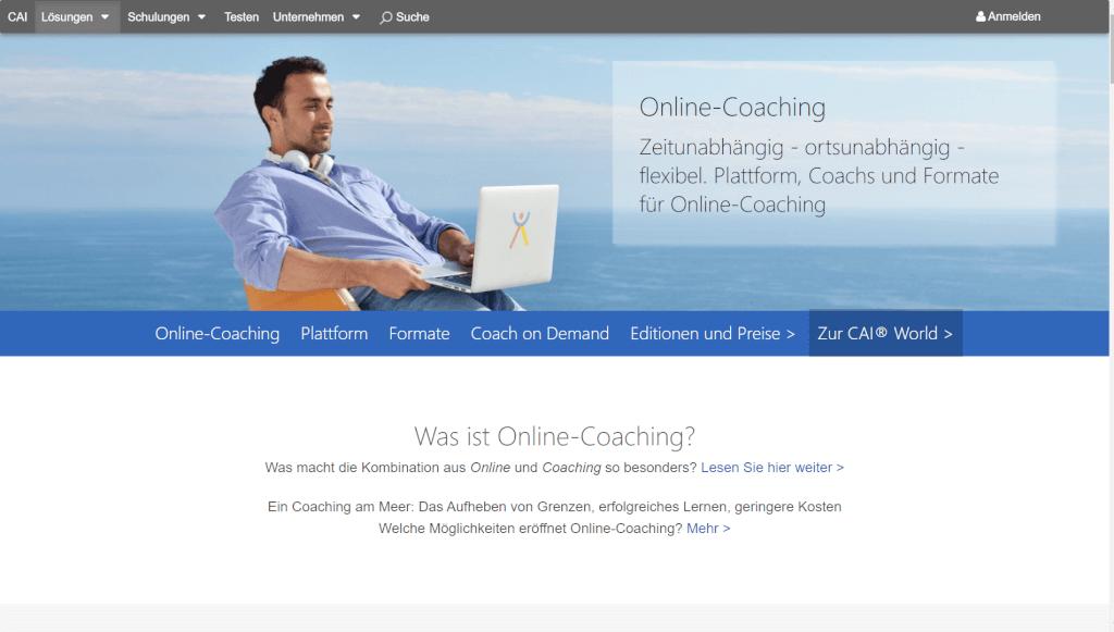 Branchenloesungen fuer Coaching CAI