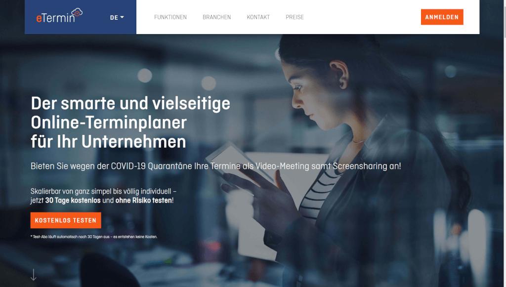 Online Terminplaner und Online Terminbuchung   eTermin