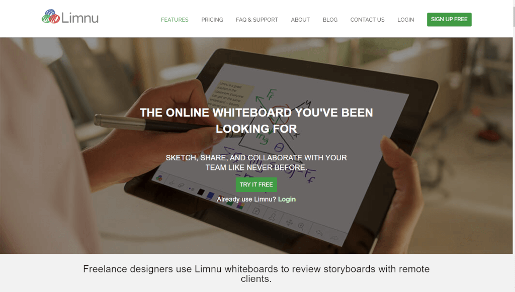 Limnu   The online whiteboard you ve been looking for