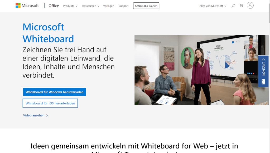 Microsoft Whiteboard   Ihre digitale Online Whiteboard App