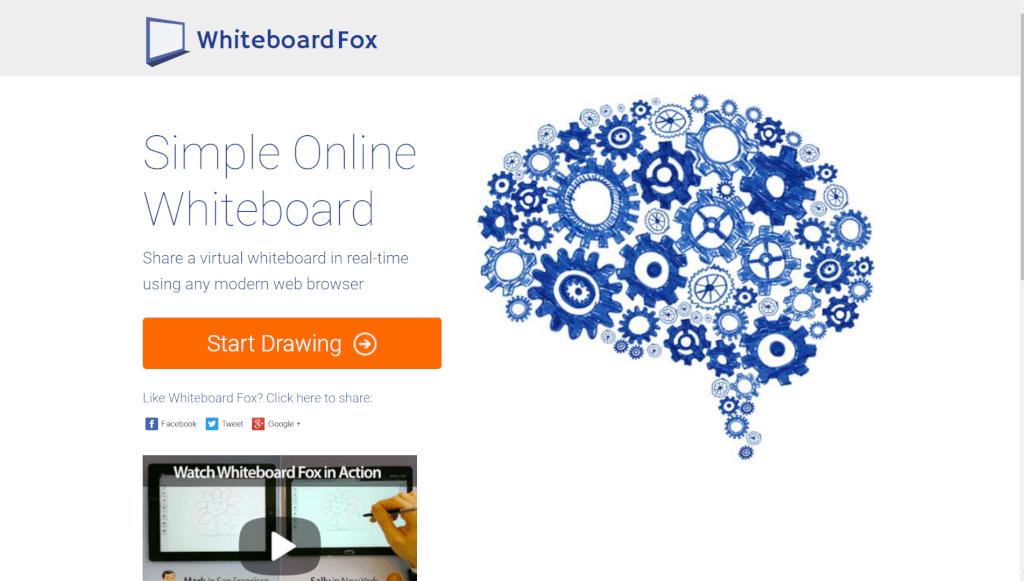 Whiteboard Fox   Simple Online Whiteboard