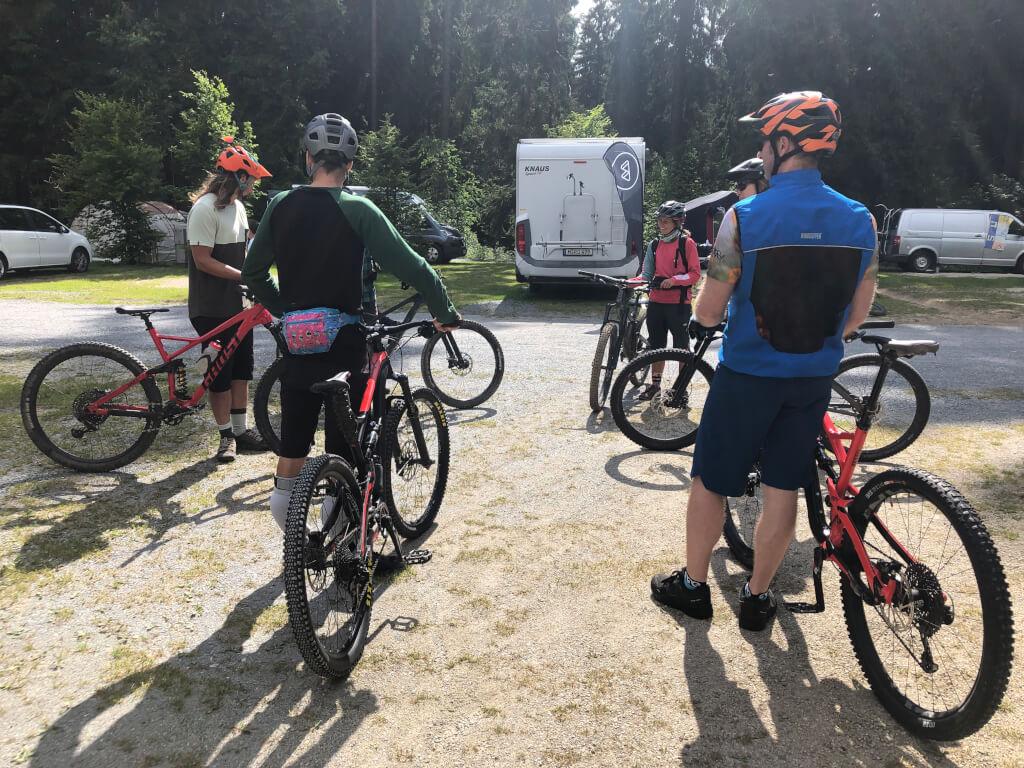 Professionelles MTB Fahrtechnikcamp
