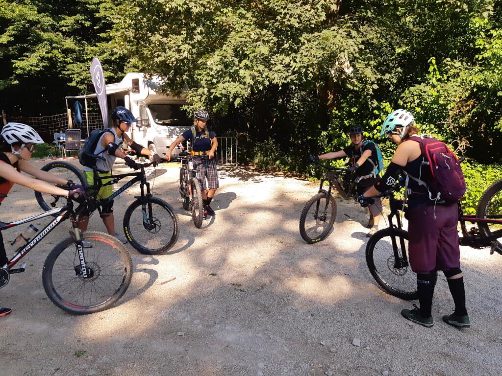 Trailcamp MTB Grundlagen