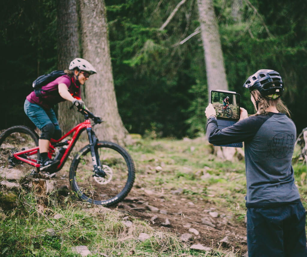 MTB Trailcamps am Reschensee