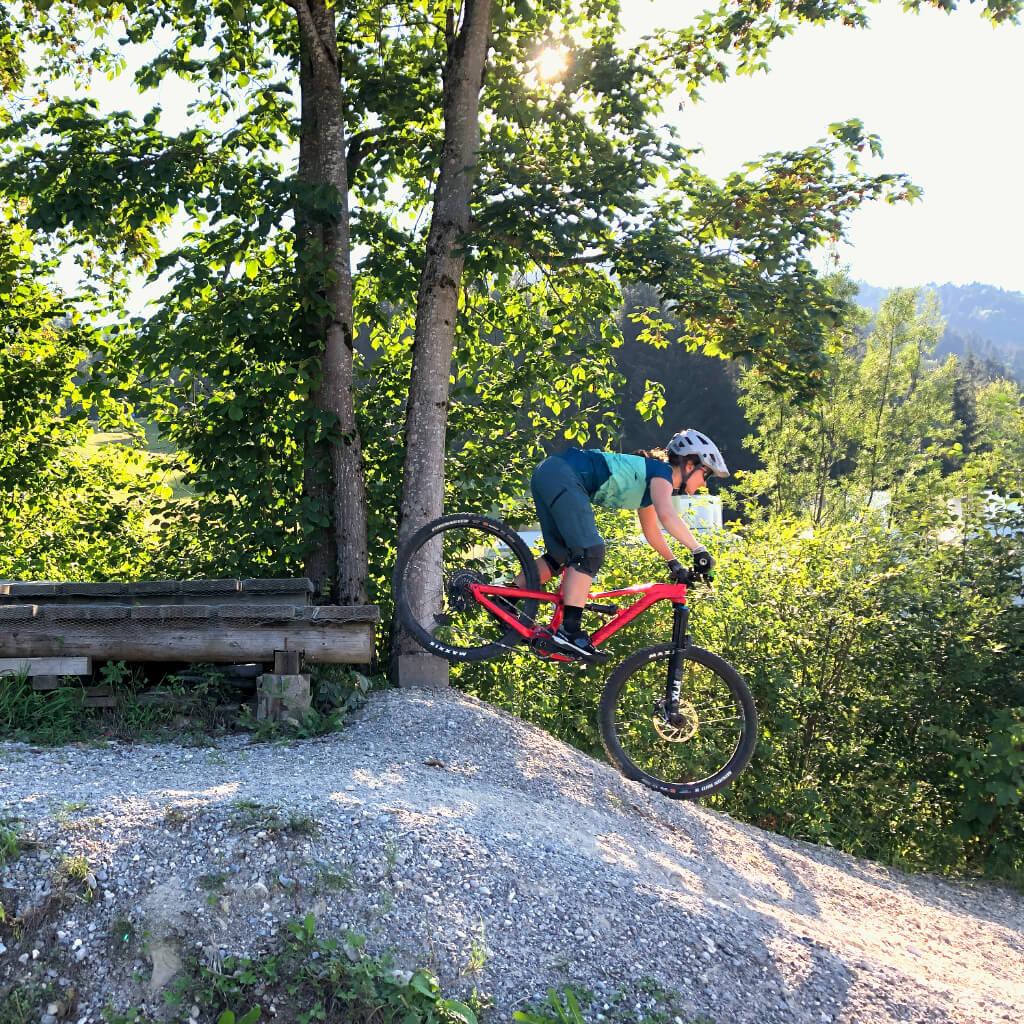Bikepark Camps im Bikepark Oberammergau