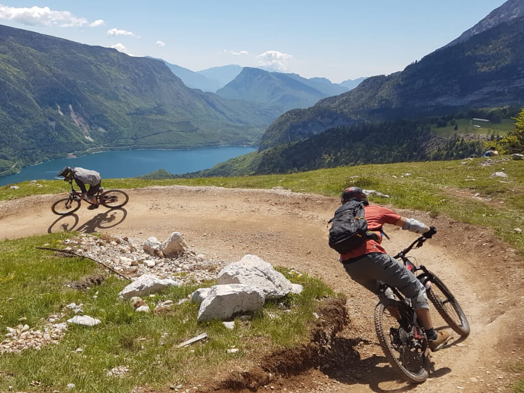 MTB Fahrtechniktraining beim Bike Camp Tirol