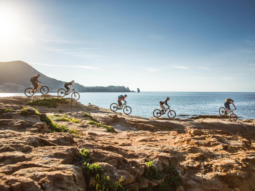 Mountainbike Reisen mit Camping