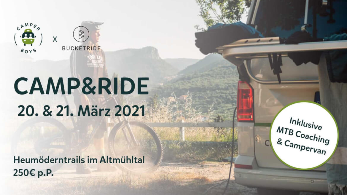 camp and ride im altmühltal - mountainbiken und camping event