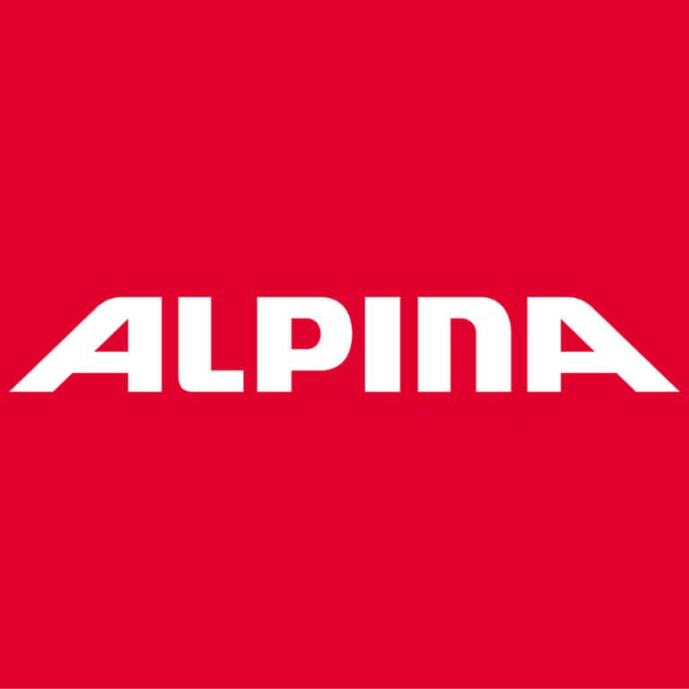 Logo von unserem Kooperationspartner ALPINA