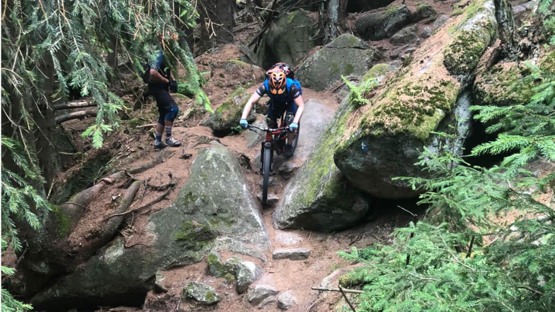 Anspruchsvolle Trails warten beim Bike Camp Ochsenkopf im Fichtelgebirge