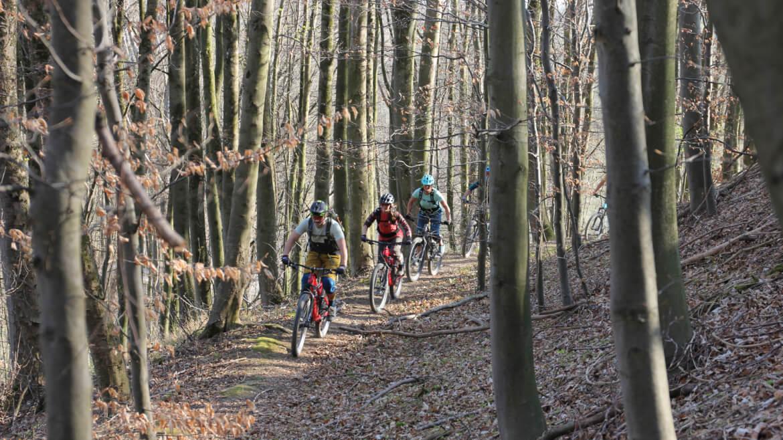 Geführte Mountainbiken Touren in Bayern mit BUCKETRIDE