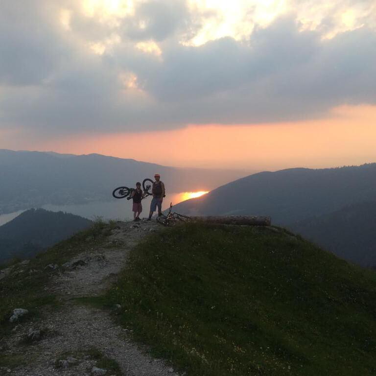 Geführte Mountainbike Touren in der Region Tegernsee und Schliersee lassen jedes Mountainbike Herz höher schlagen