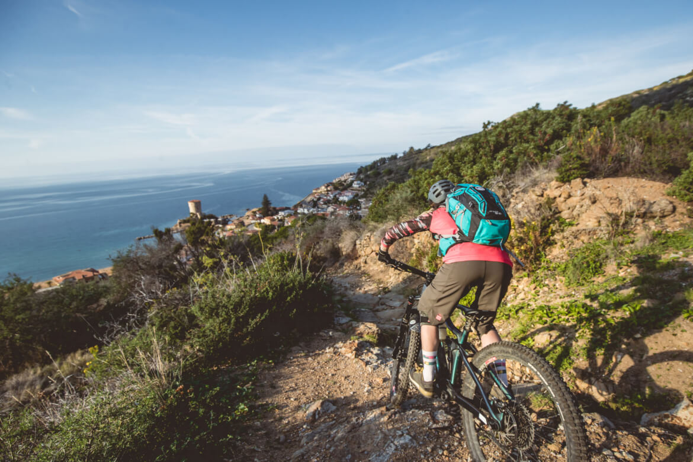 MTB Trails bis ans Meer gibt es in der Toskana