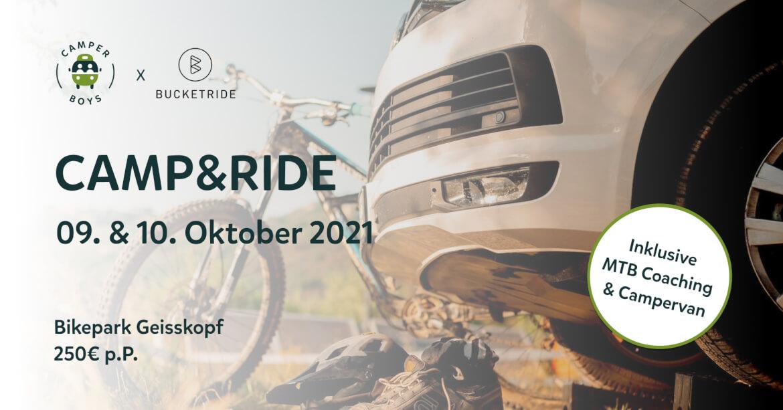 Camp and Ride mit CamperBoys im bikepark Geisskopf