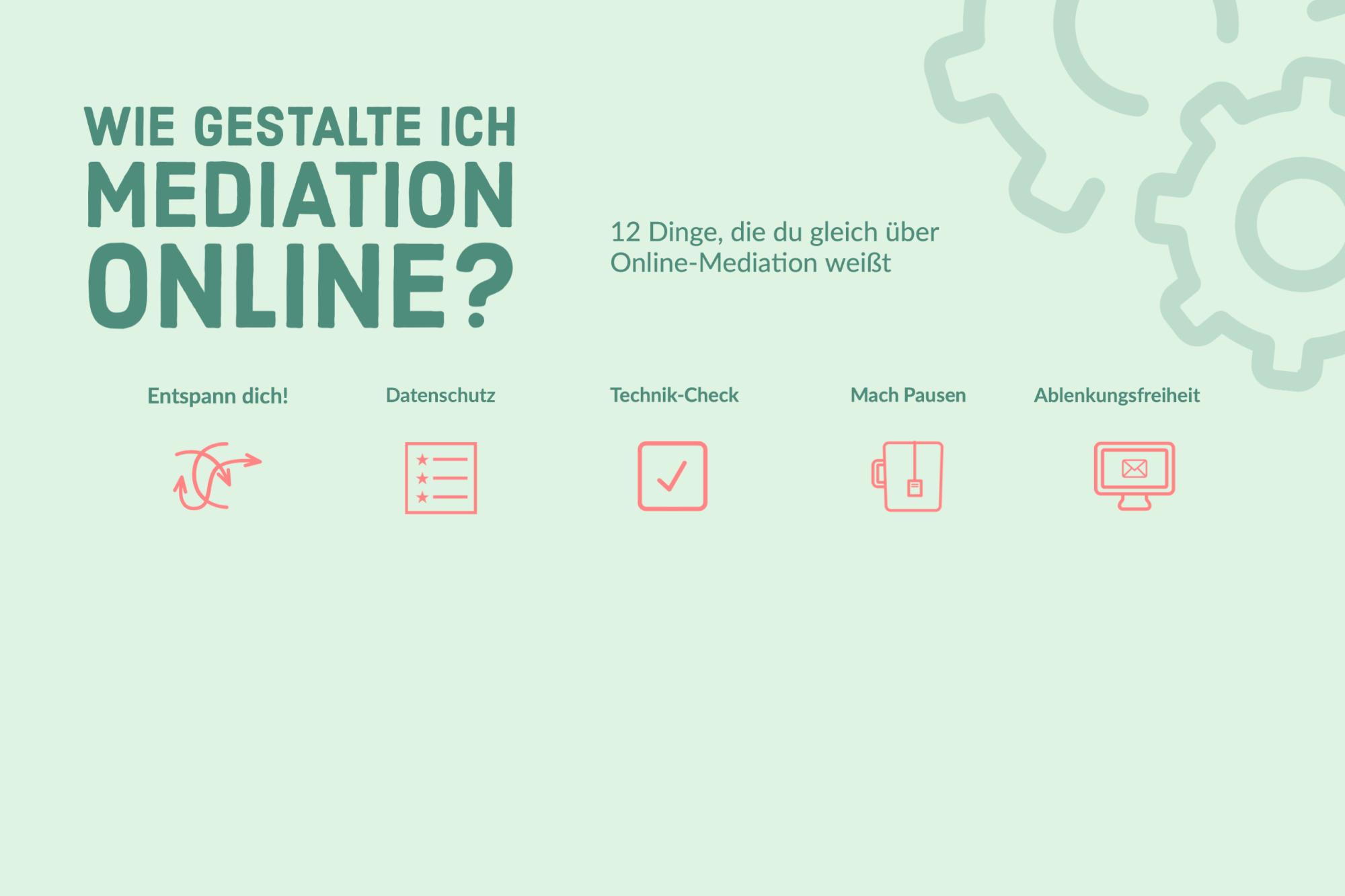 Meine erste Online-Mediation: Hilfe, wie mache ich das nur?
