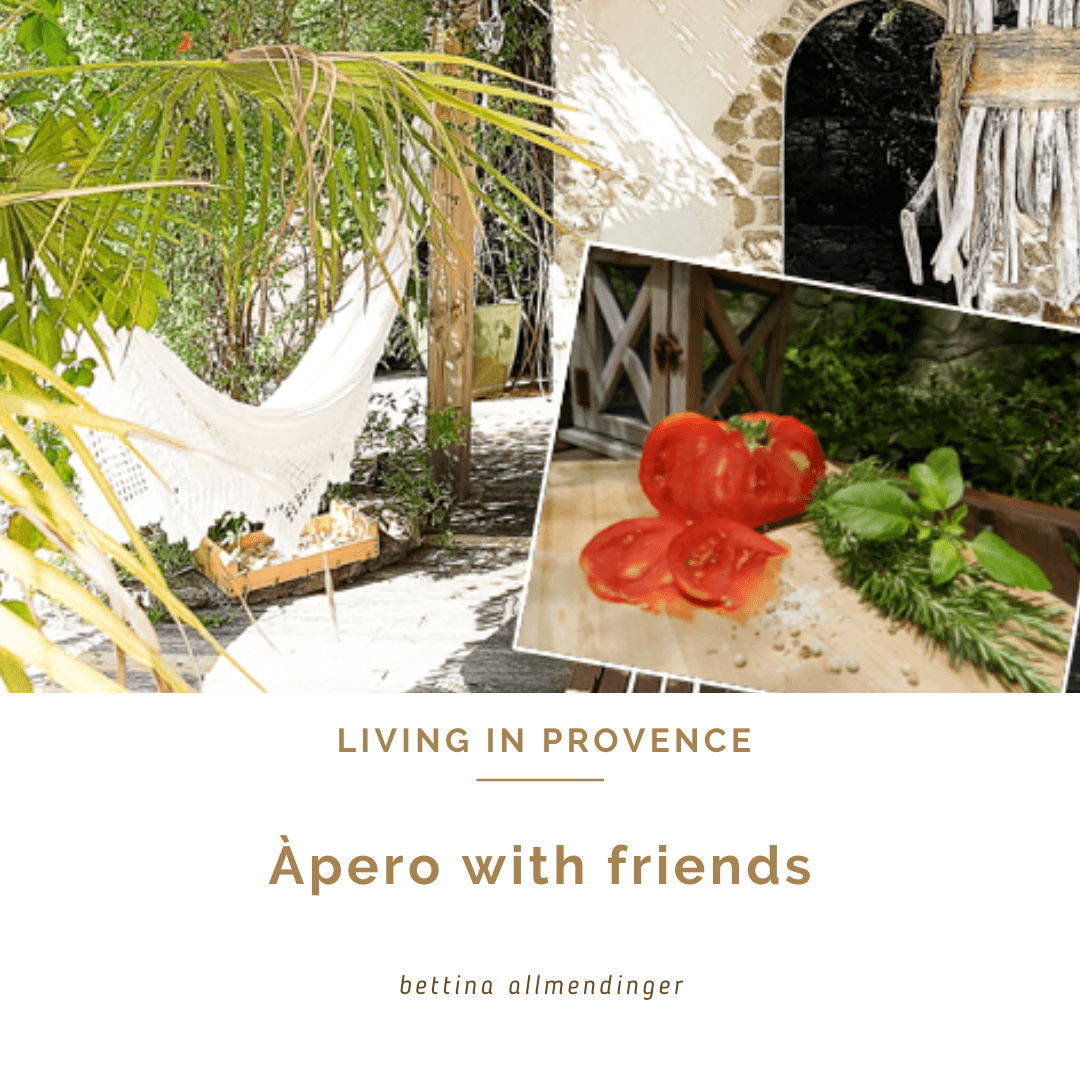Apéro with friends !