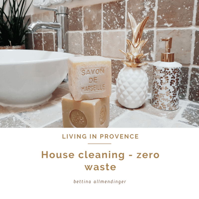 House cleaning - zero waste