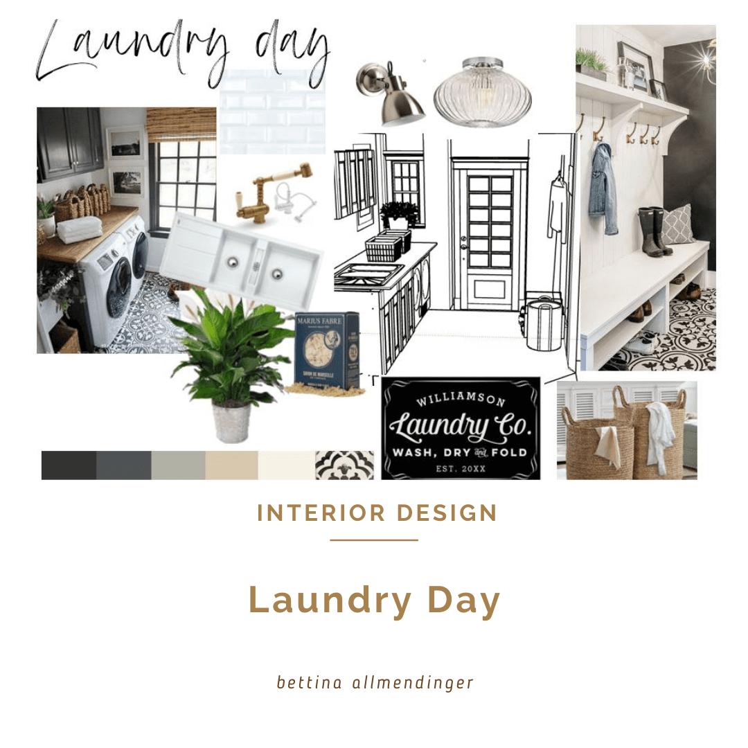 Laundry Day - in einer schönen und fuktionellen Waschküche!
