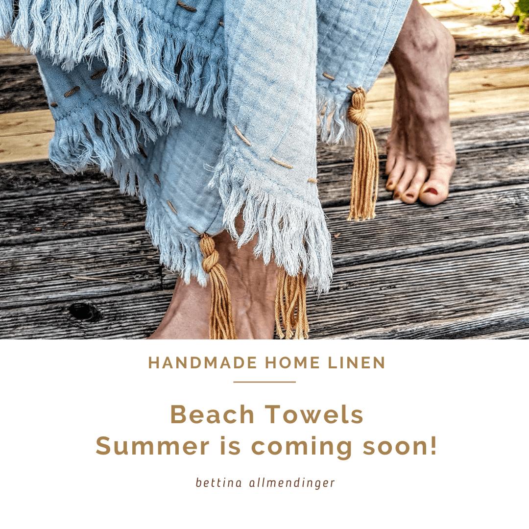 Strandtücher - der Sommer kommt bald !