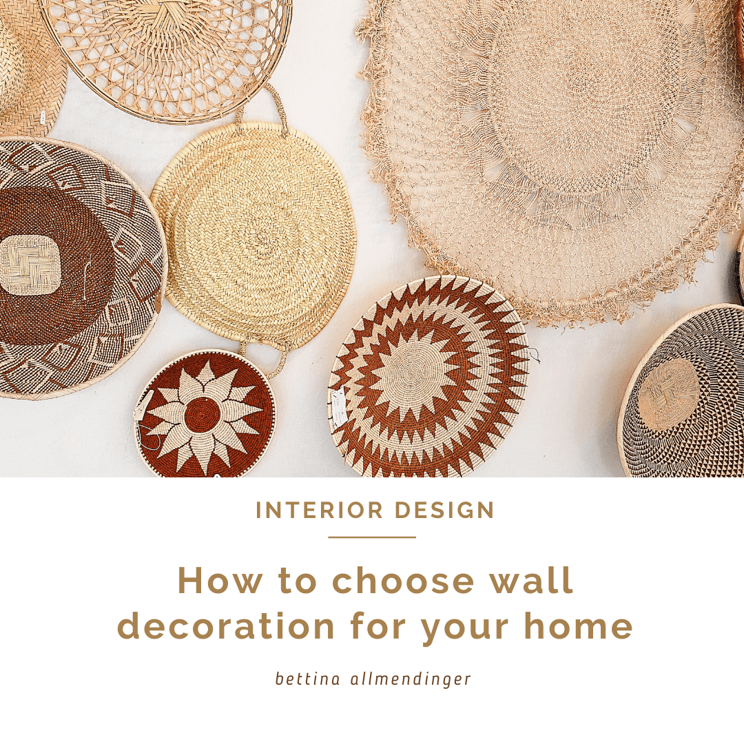 How to choose wall decoration for your home