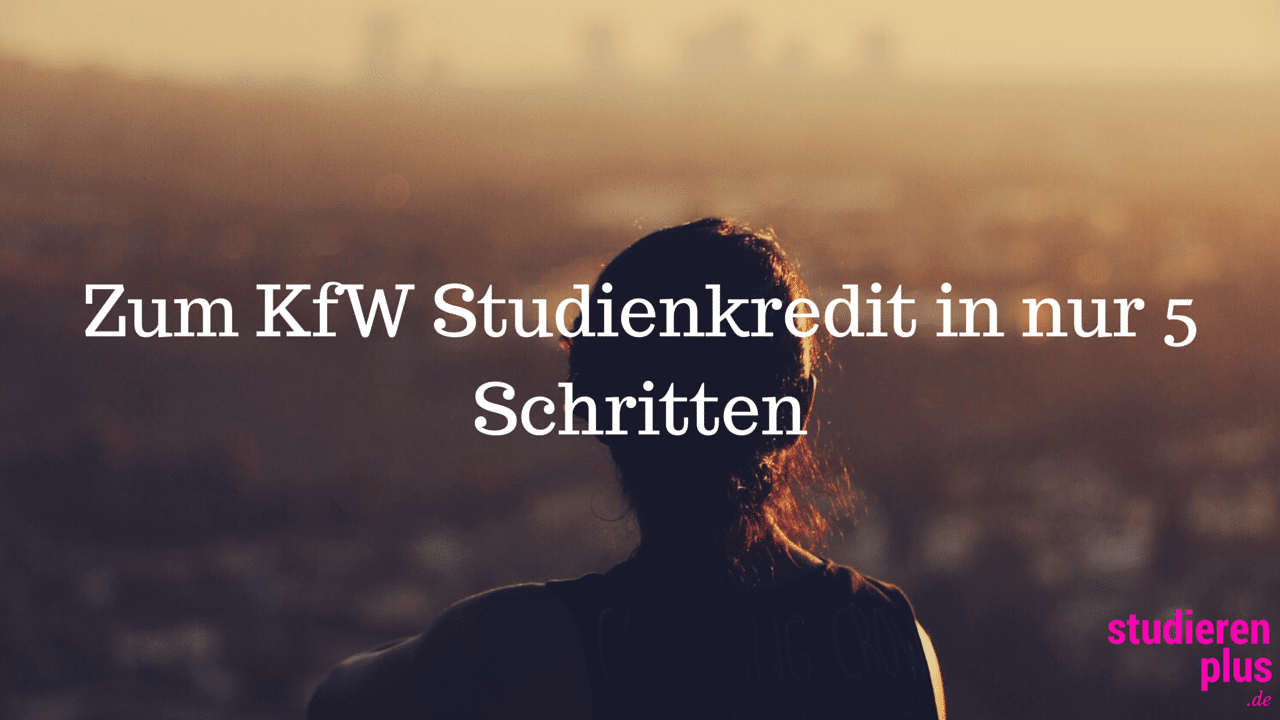kfw studienkredit