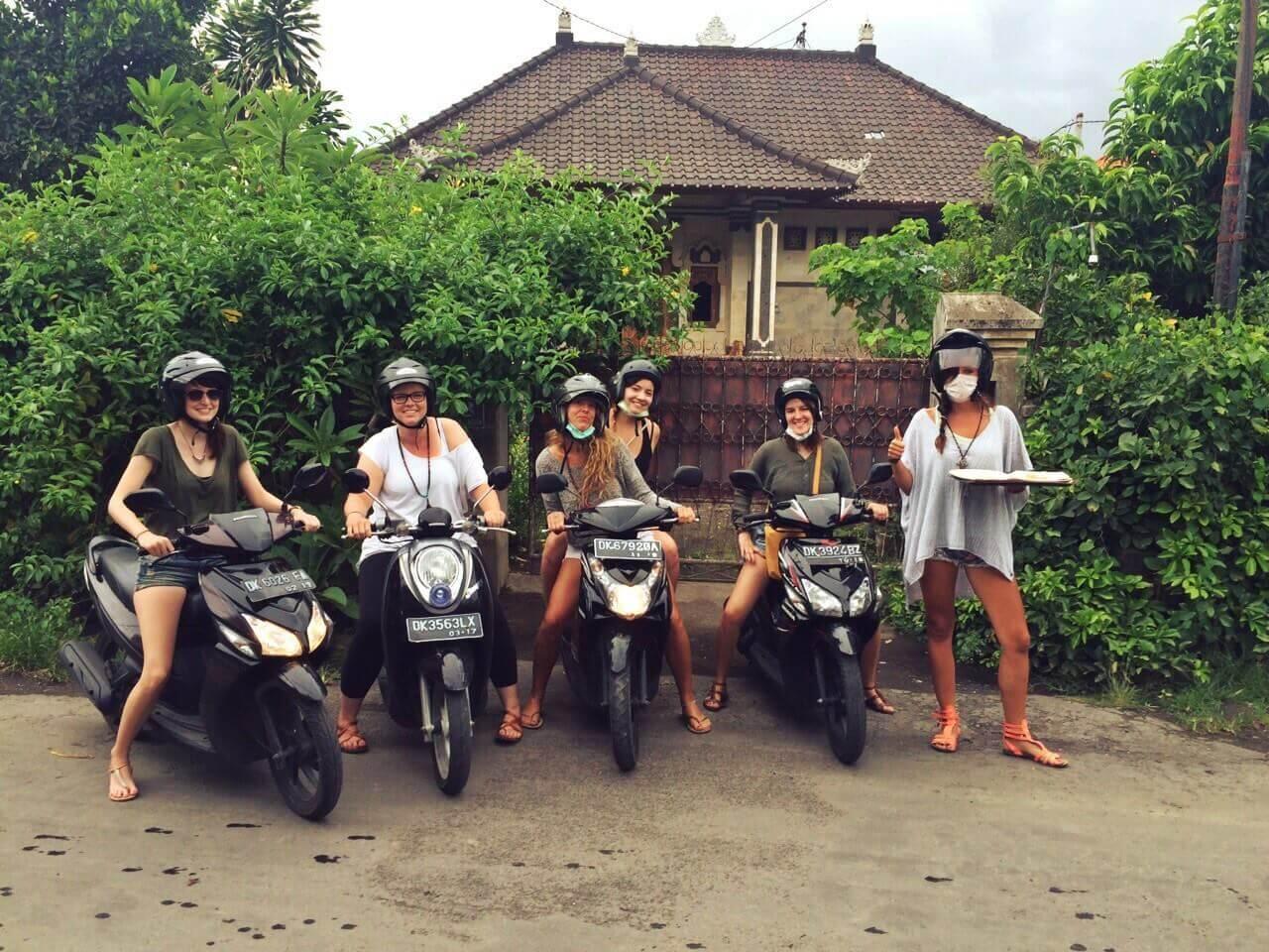 Roller mieten Bali