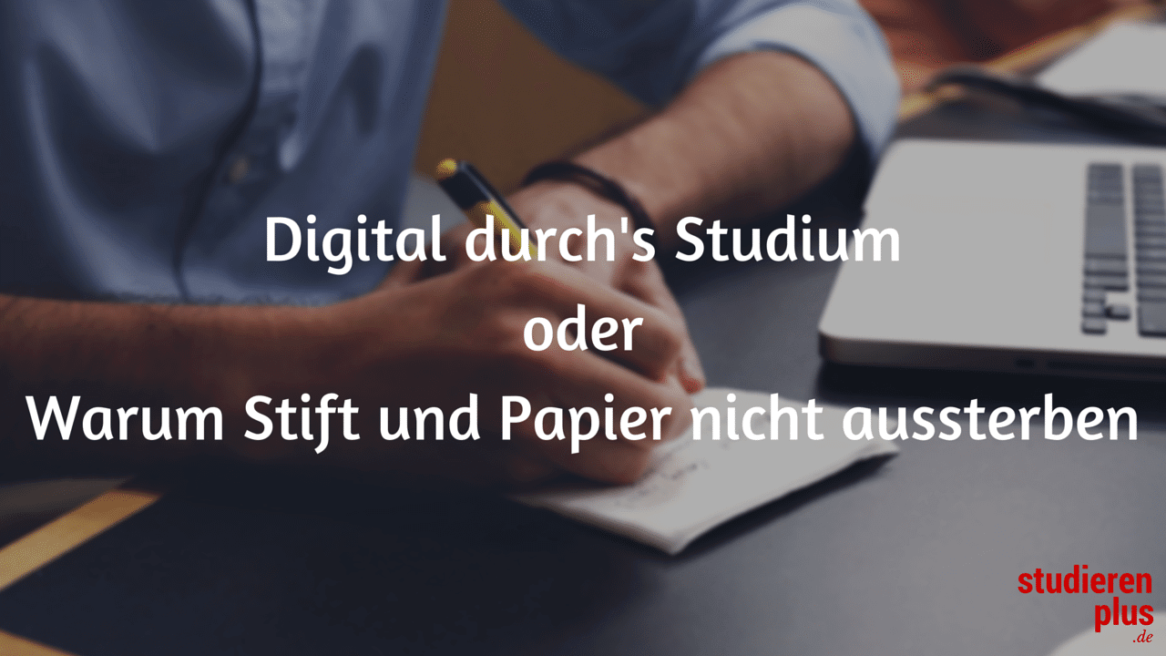 digitalisierung studium