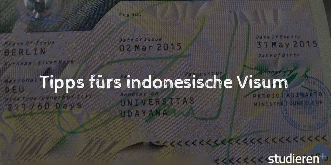 Visum Indonesien