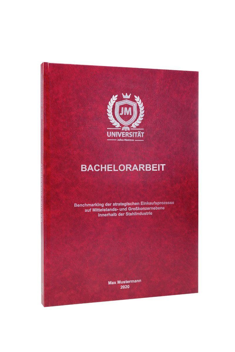 Standard Hardcover Bachelorarbeit drucken und binden
