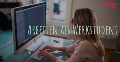 Arbeiten als Werkstudent