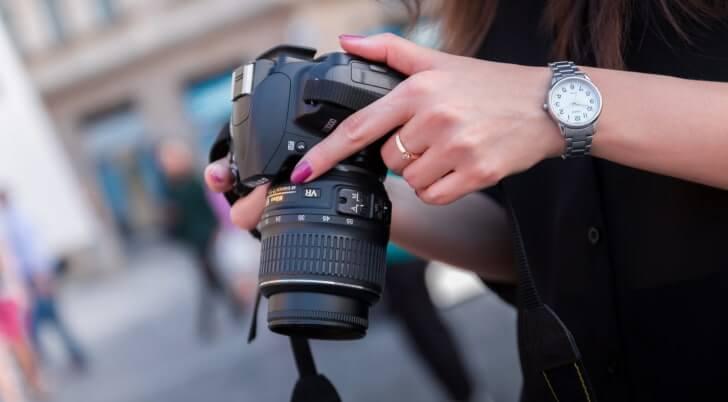 selbstständige Arbeit im Studium als Fotografin