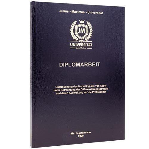 Diplomarbeit drucken & binden in 24h