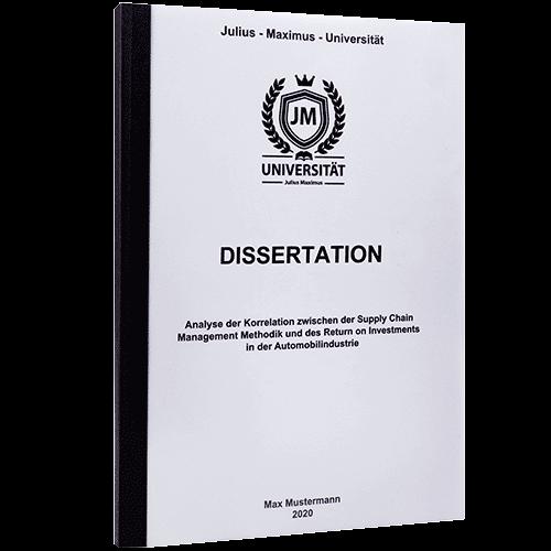 dissertation doppelseitig drucken