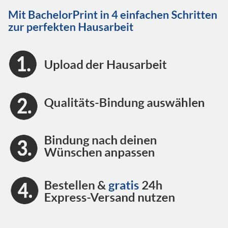 Hausarbeit Drucken Binden Lassen Top Angebot