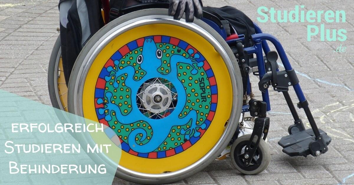 Erfolgreich Studieren mit Behinderung