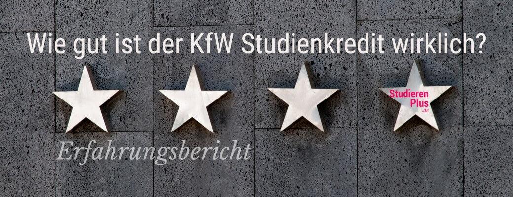 Der KfW Studienkredit Erfahrungsbericht