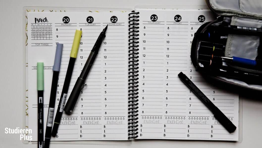 Zeit fürs Studium - Prioritäten setzen