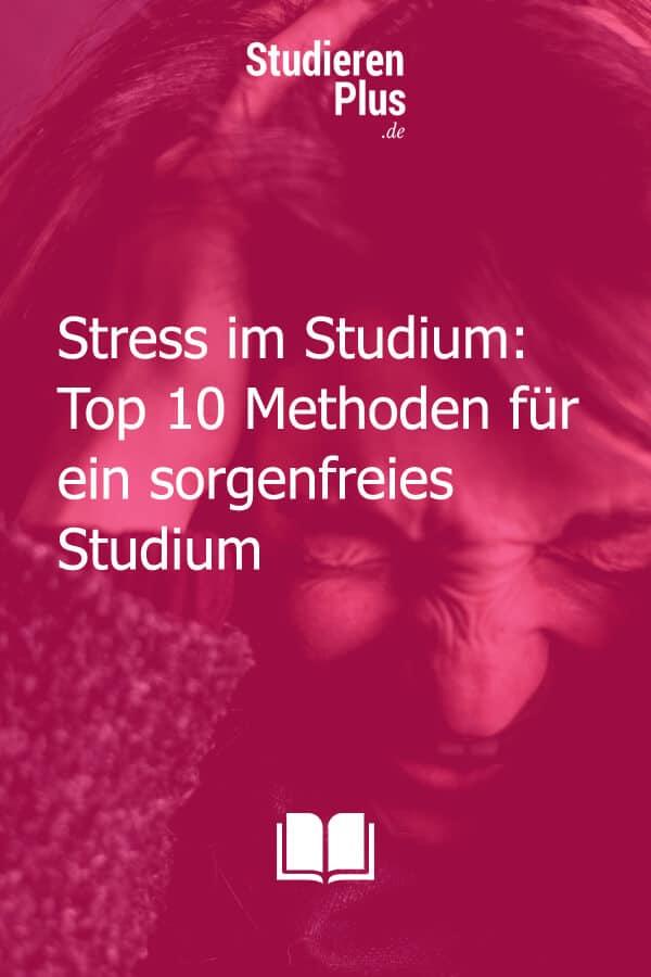 Stress im Studium