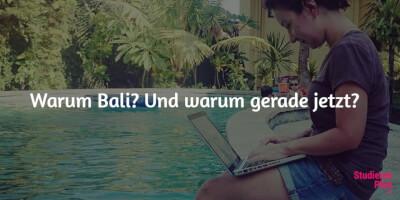 Bali Auslandssemester im Paradies