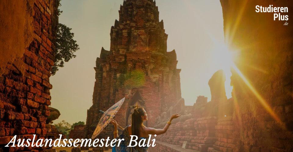 Auslandssemester Bali – Bald geht's los!