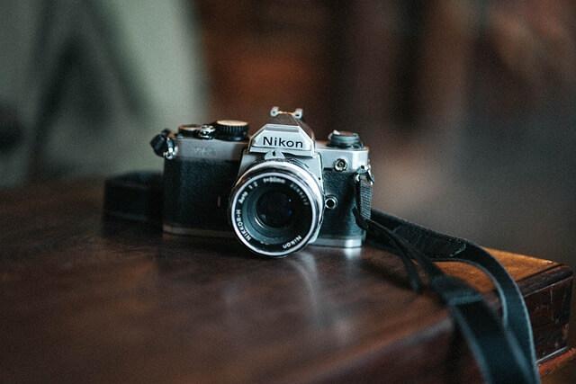 Fotokamera für Pinterest Inhalte