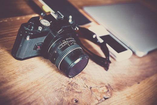 Fotokamera für Instagram Inhalte