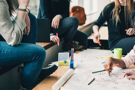 Content Marketing Startegie wird erstellt