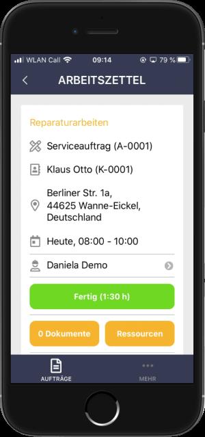 Smartphone mit Craftboxx
