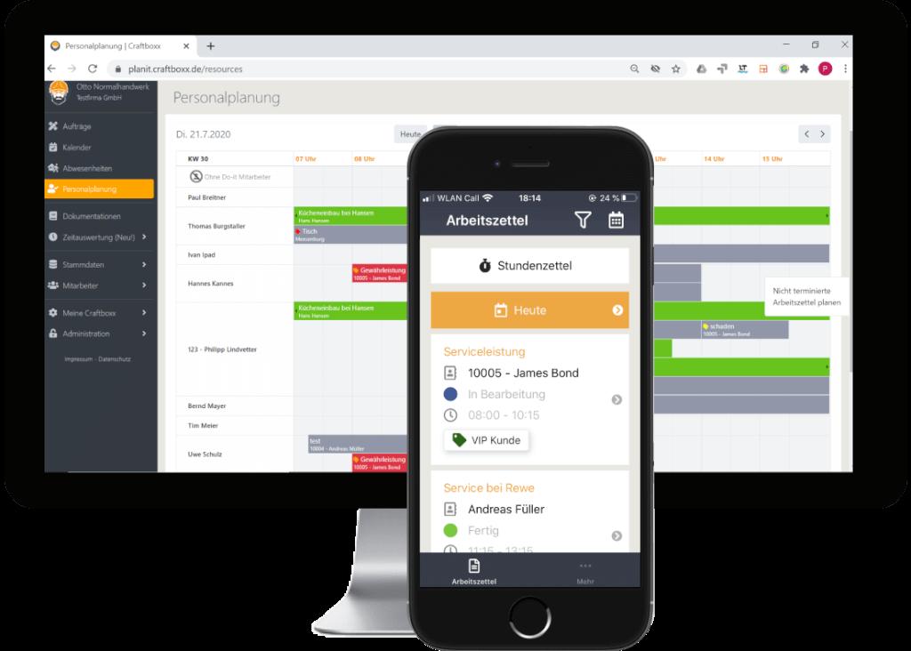 Service Software und App